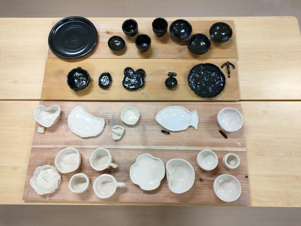 20210827陶芸体験教室の完成作品写真